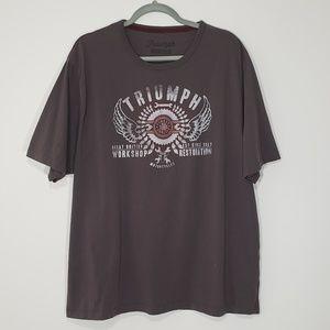 Triumph Motorcycles Short Sleeve Graphic Tee, XXXL